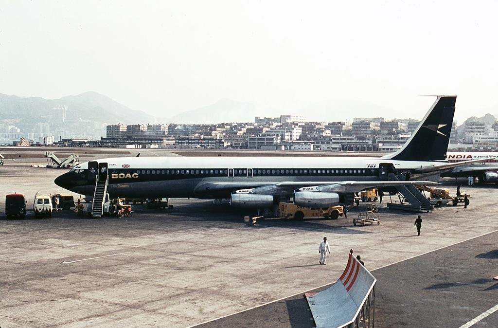 Noticias de aviación. Noticias de aviones. Boeing 707 de BOAC