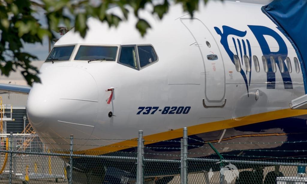 Noticias de aerolíneas. Noticias de aviación. Boeing 737 MAX 8200 de Ryanair
