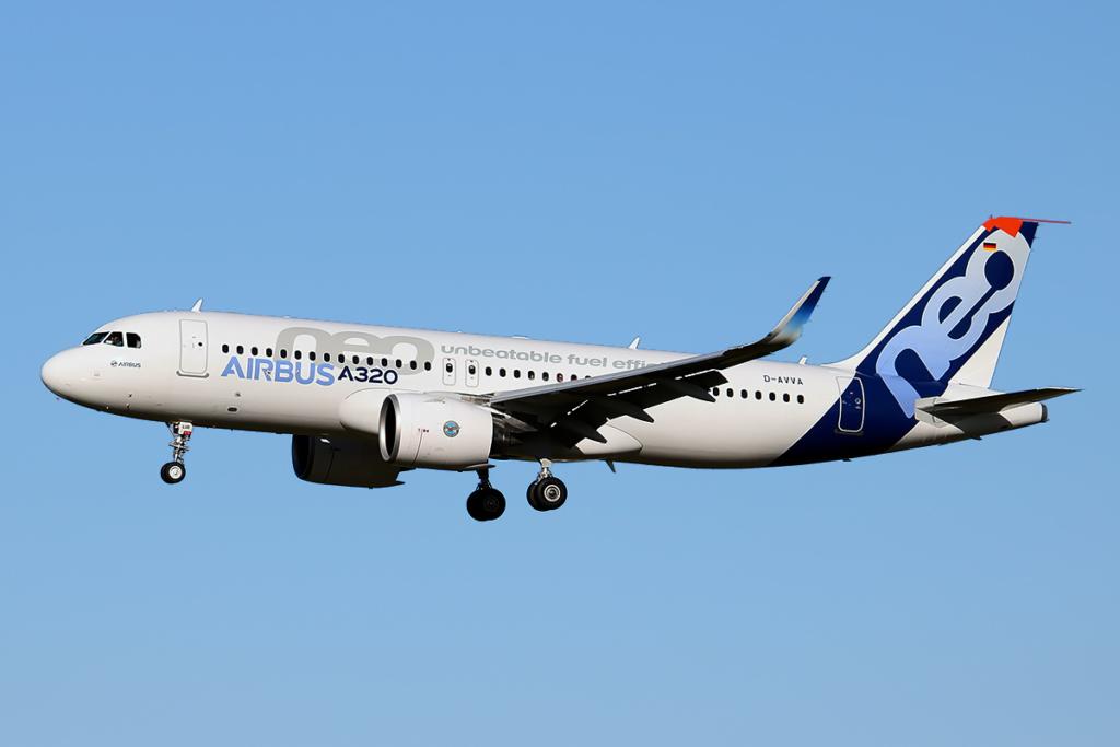 Noticias de aviación. Noticias de aviones. Airbus A320neo