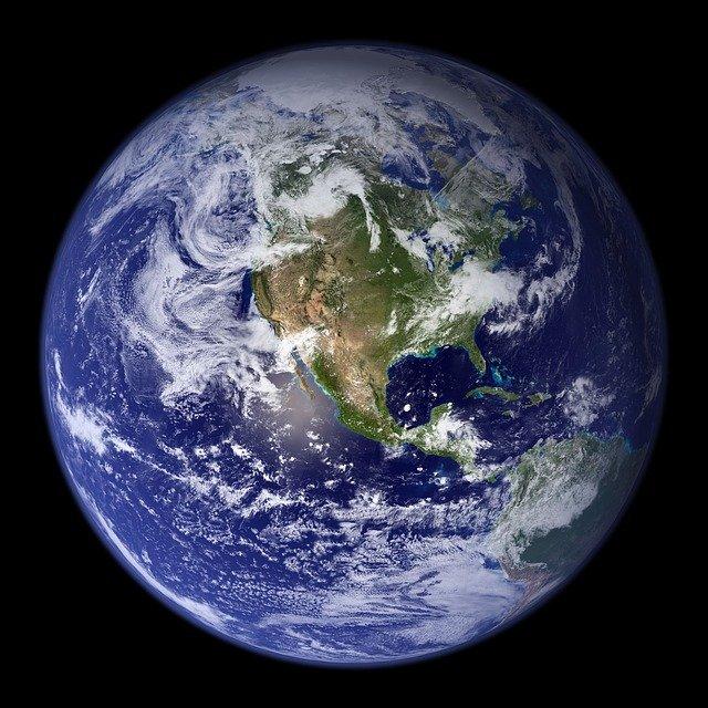 Noticias de aviación. Noticias de aviones. La Tierra vista desde el espacio.
