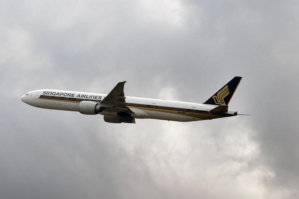 Noticias de aviones. Noticias de aviación . Boeing 777 de Sinapore Airlines