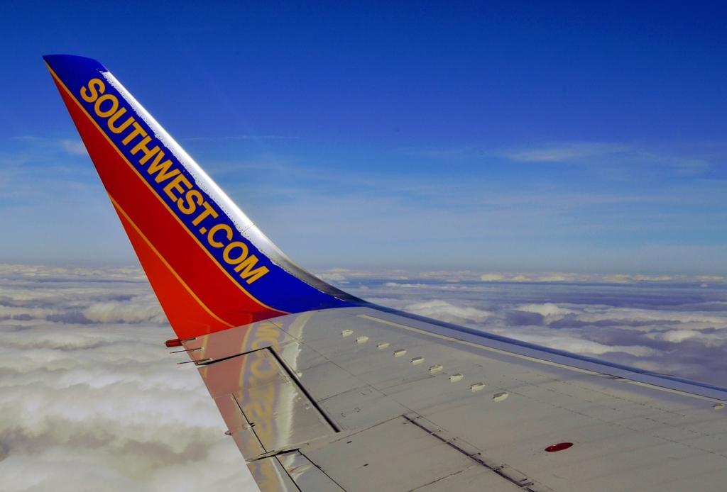 Noticias de aerolíneas. Noticias de compañías aéreas.  Sharklet de un Boeing 737 de Southwest