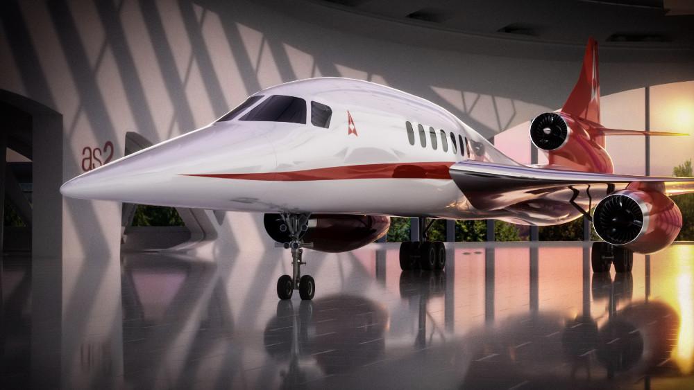 Noticias de aerolíneas. Noticias de compañías aéreas. Proyecto AS2 de Aerion