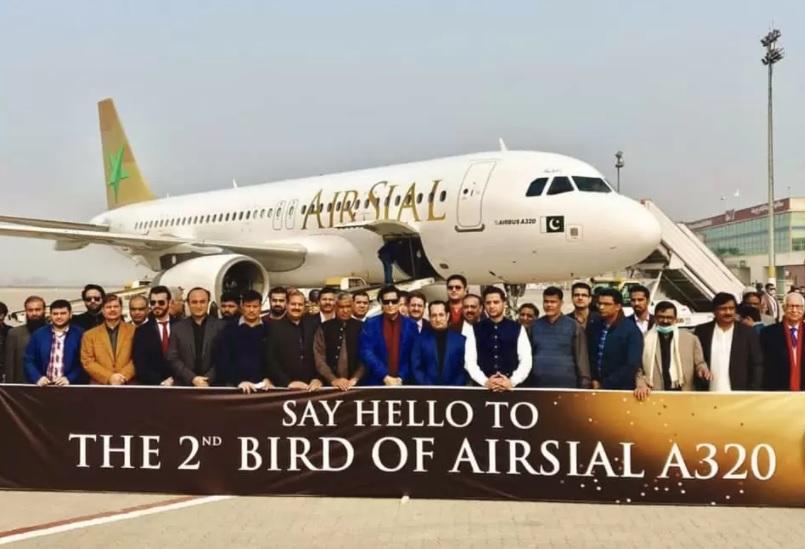 Noticias de aerolíneas. Noticias de compañías aérea. Avión de Air Sial