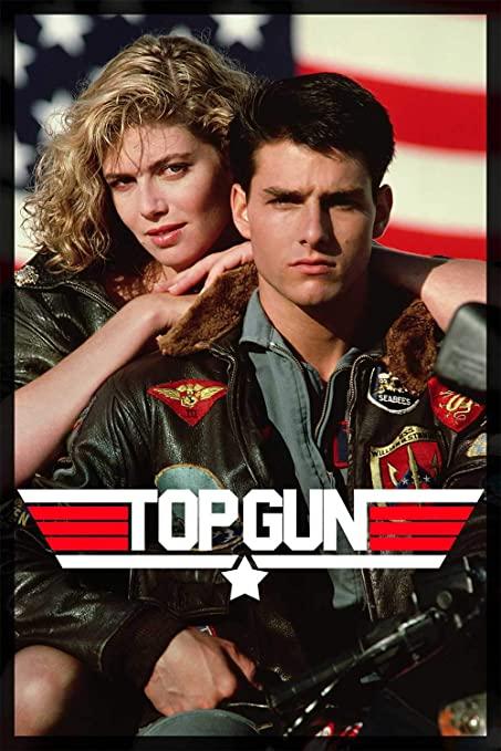 Noticias de aviones. Noticias de aviación. Poster de la película TOP GUN, 1986