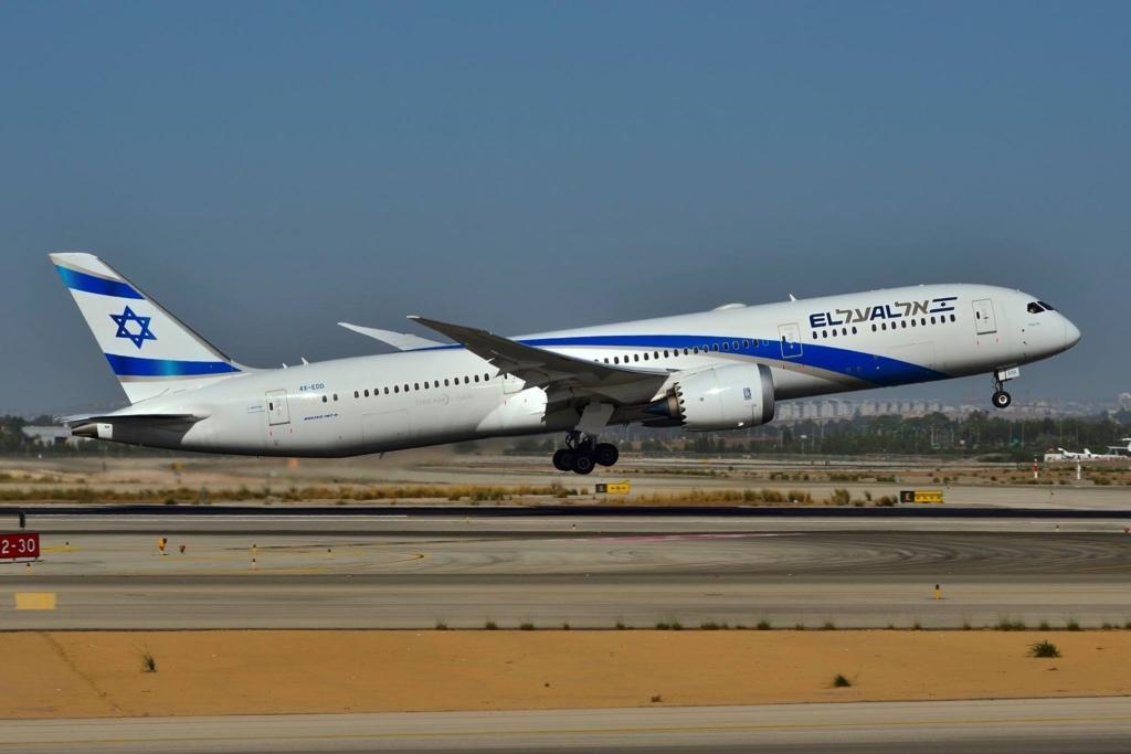 Noticias de aerolíneas. Noticias de compañías aéreas. Boeing 787 de El Al.