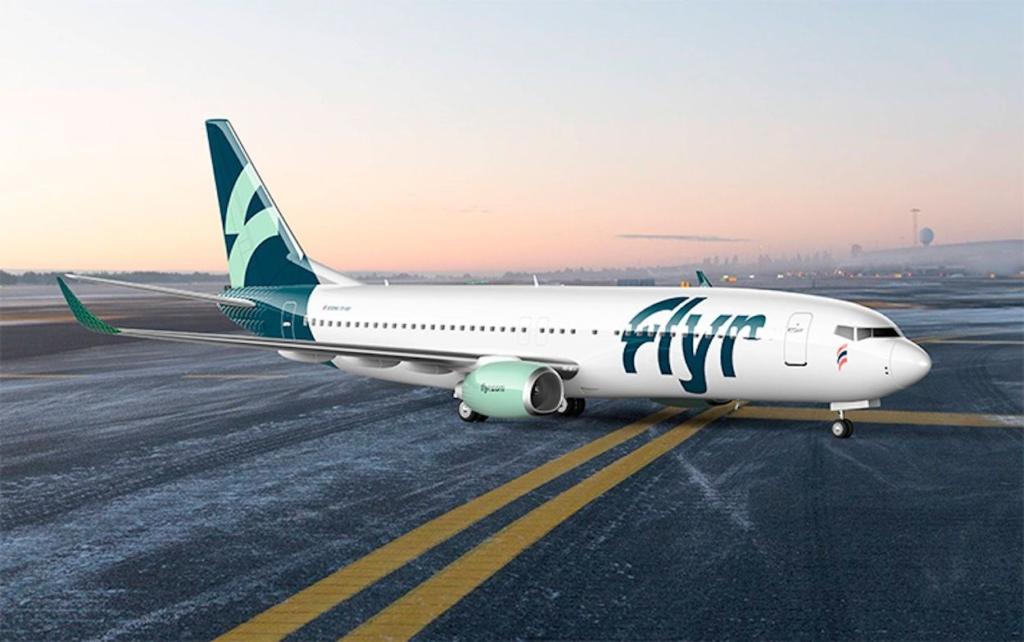 Noticias de aerolíneas. Noticias de compañías aérea. Avión de Flyr