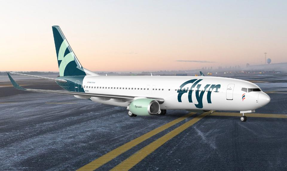 Noticias de aerolíneas. Noticias de compañías aéreas. Flyr: nueva compañía aérea noruega.