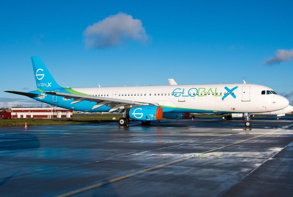 Noticias de aerolíneas. Noticias de compañías aérea. Global X