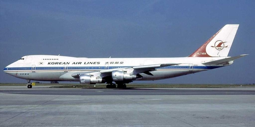 Noticias de aviones. Noticias de aviación. Boeing 747 de Korean Airlines derribado por la URSS