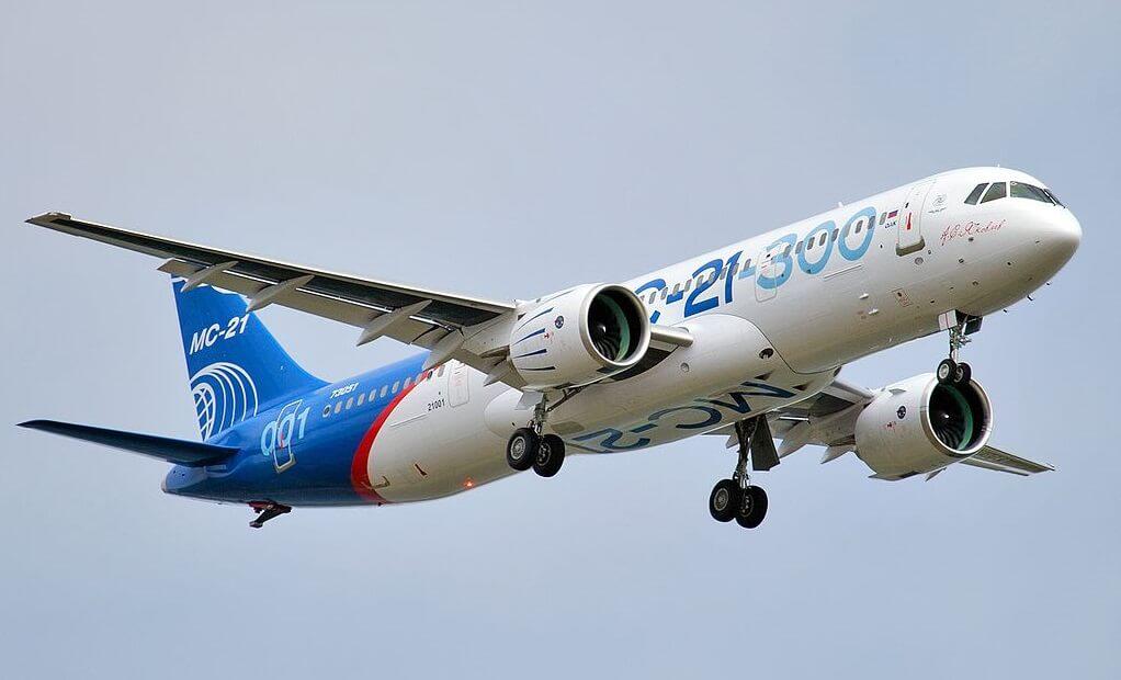 Noticias de aviones. Noticias de aviación. Irkut mc-21