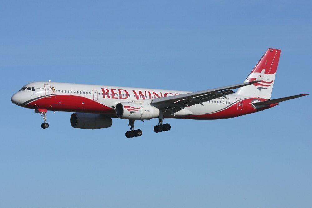 Noticias de aerolíneas. Noticias de compañías aéreas. Tupolev de Red Wings