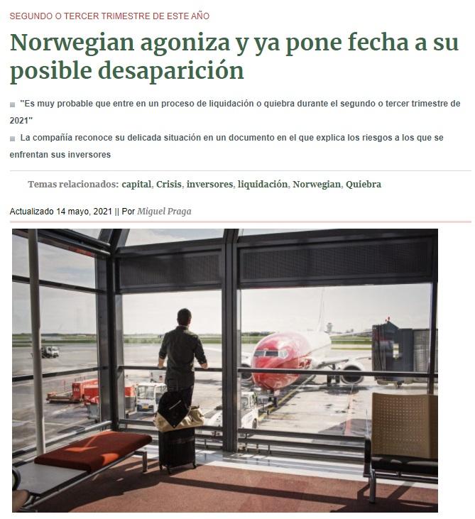 Noticias de aerolíneas. Noticias de aviones.