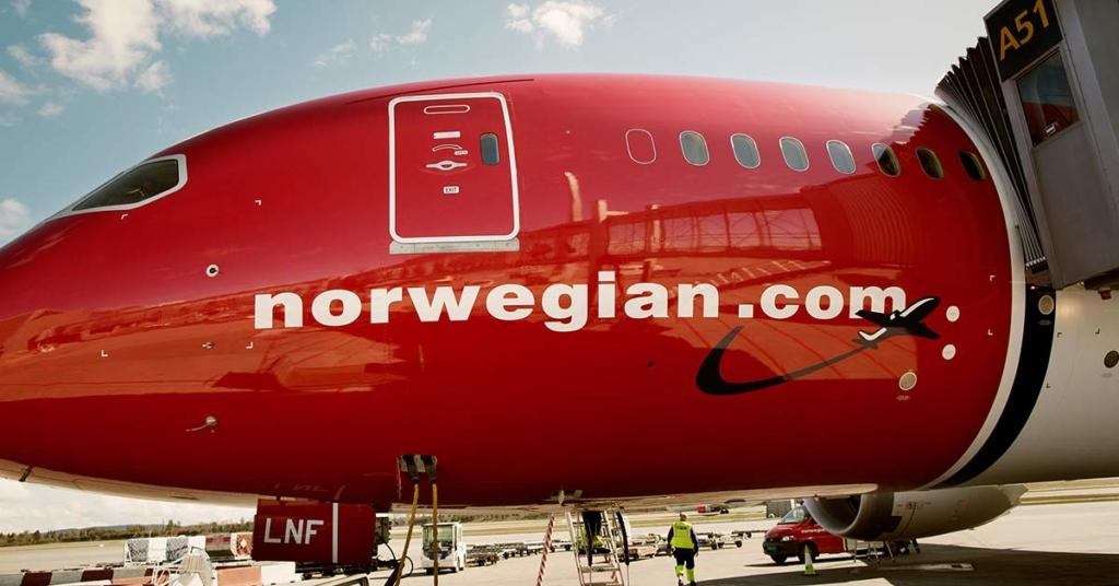Noticias de aerolíneas. Noticias de compañías aéreas. Boeing 737 de Norwegian.