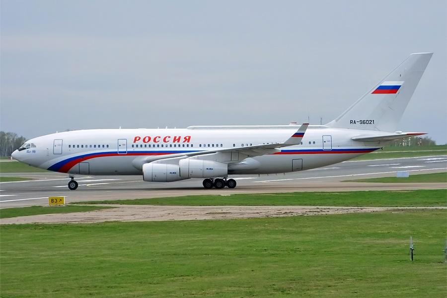 Actualidad aeroespacial. Actualidad sobre aviones. Avión presidencial ruso