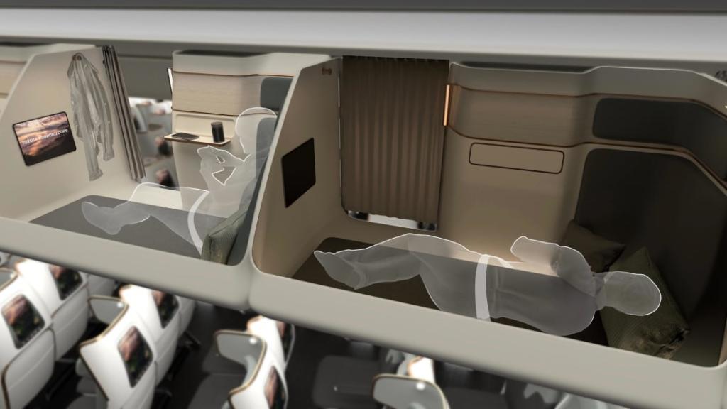 Noticias de aviones. Noticias de aviación. Proyecto para la clase Economy de Boshoku