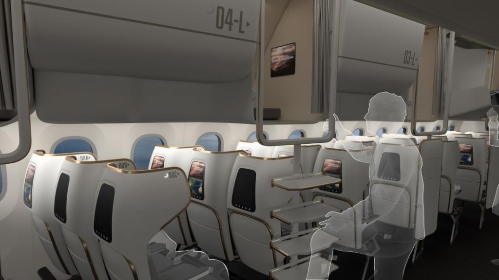 Noticias de aviones. Noticias de aviación. Propuesta de cabina de Boshoku