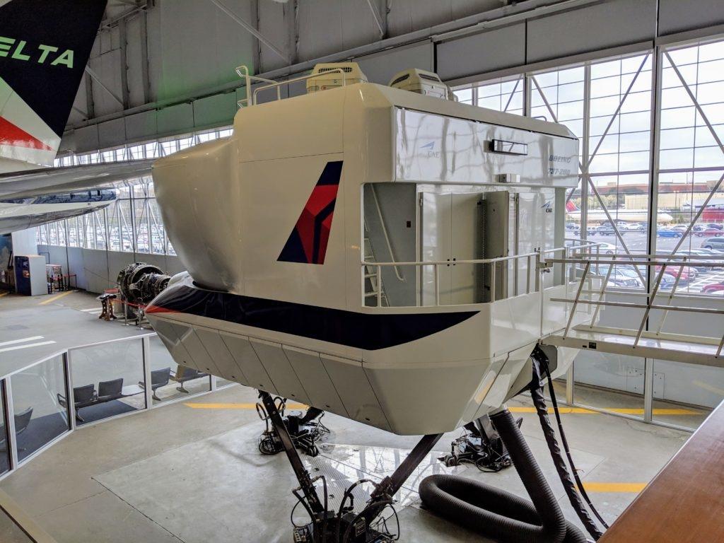 Actualidad aerolíneas. Actualidad compañías aéreas. Centro de simuladores de Delta Airlines