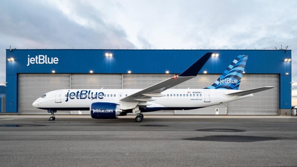 Noticias de aerolíneas. Noticias de compañías aéreas. Nuevo avión para la flota de JetBlue