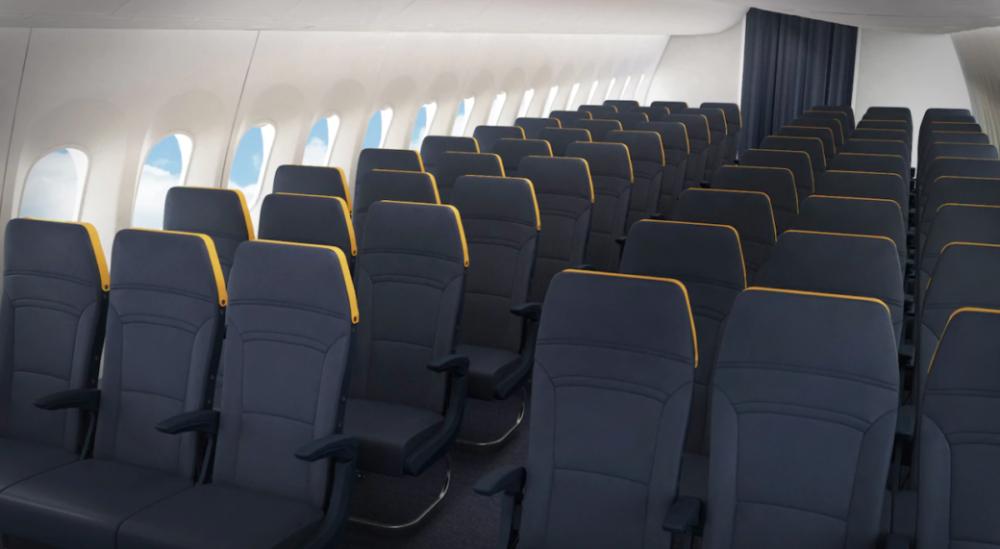 Actualidad de aerolíneas. Actualidad de compañías aéreas. Cabina del nuevo 737MAX de Ryanair