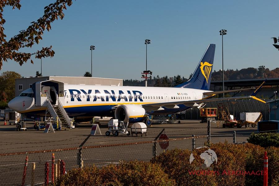 Actualidad de aerolíneas. Actualidad de compañías aéreas. Nuevo 737 MAX de Ryanair.