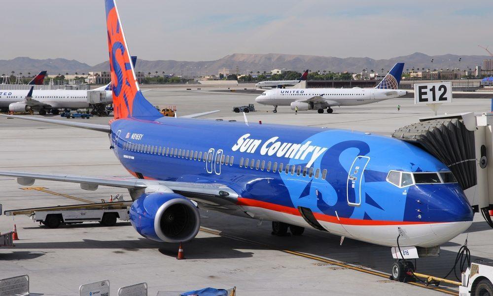 Noticias de aerolíneas. Noticias de compañías aéreas. Boeing 737 de Sun Country Airlines