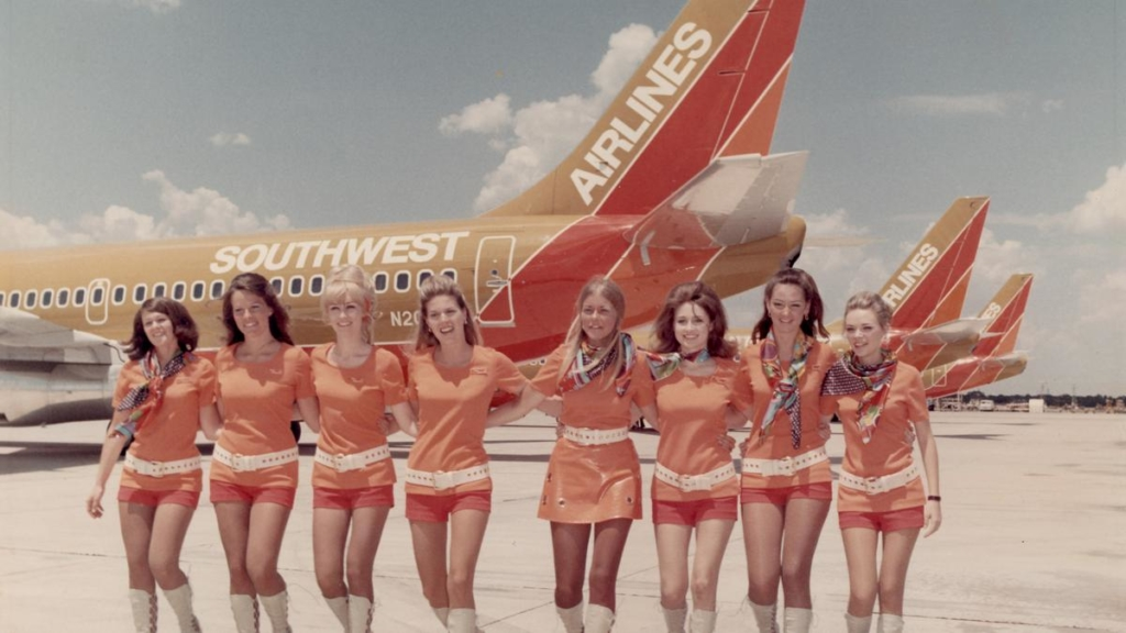Actualidad aérea. Actualidad aerolíneas. Primeros aviones y tripulaciones de Southwest