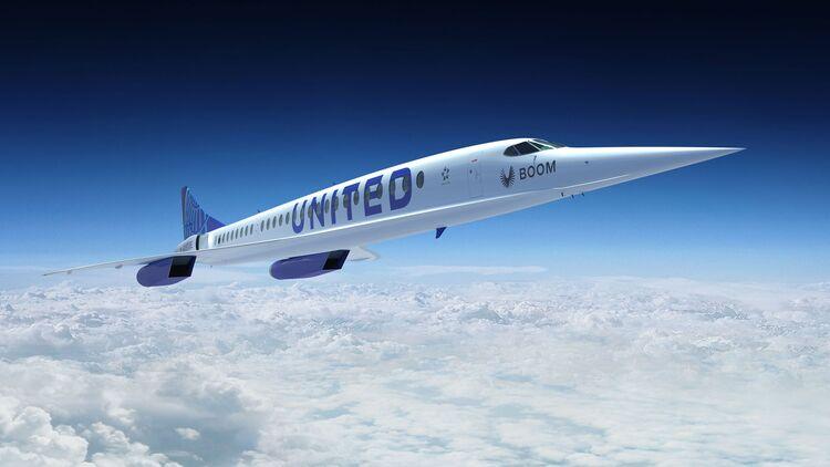 Noticias de compañías aéreas. Noticias de aerolíneas. Simulación del modelo Overture comprado por United