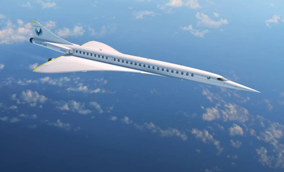 Noticias de compañías aéreas. Noticias de aerolíneas. Nuevo modelo supersónico Overture