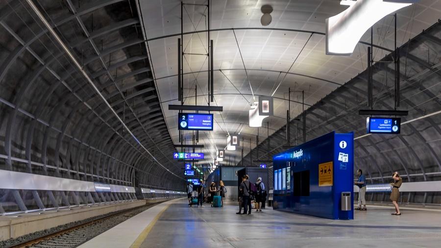 Estación de tren de Vantaa, en Finlandia