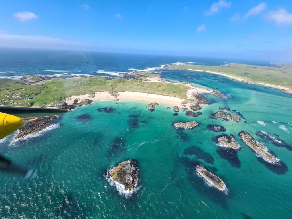 Playa en las Islas Hébridas