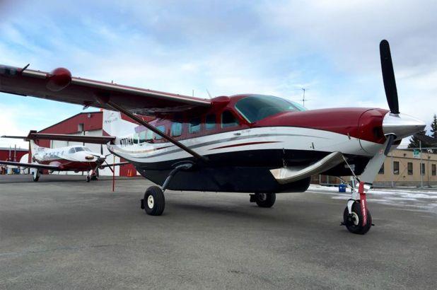 Cessna Caravan de la aerolínea regional de Alaska Ryan Air