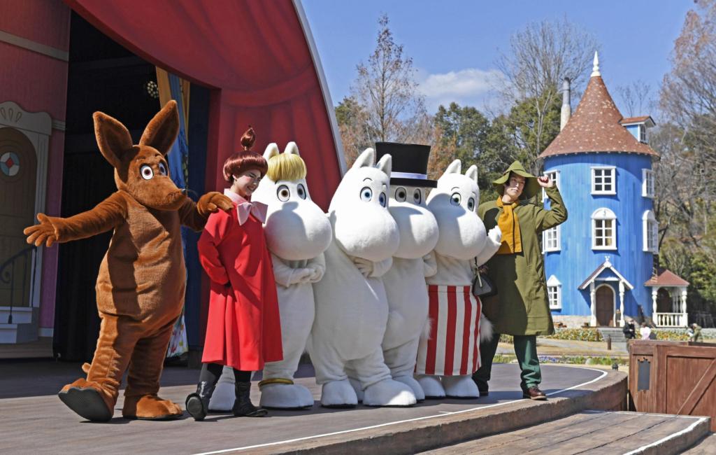 Parque temático de los Moomins.