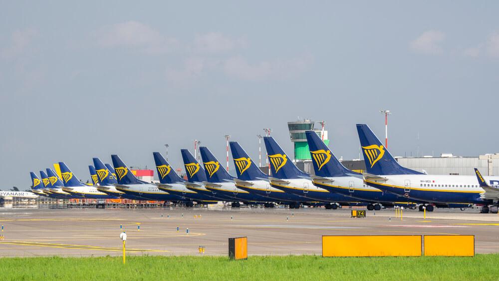Flota de aviones de Ryanair