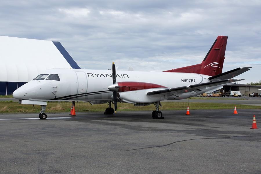 SAAB 340 de la aerolínea regional de Alaska Ryan Air