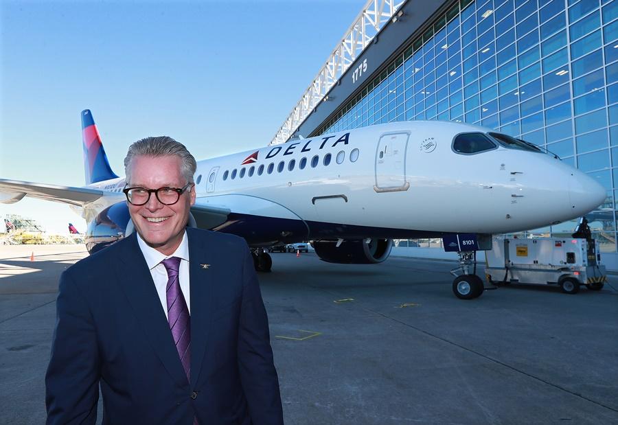 Ed Bastian, CEO de Delta Air Lines