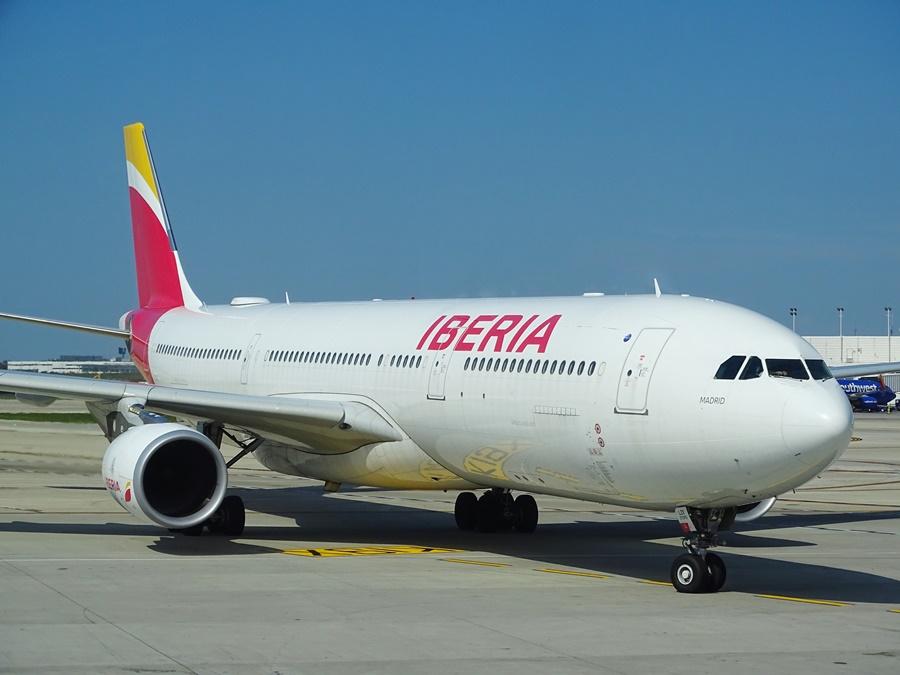 Airbus A330 de la compañía Iberia